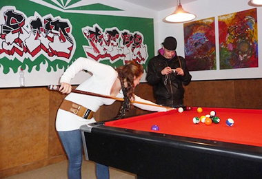 JUB Jugendzentrum Raubling Billiardzimmer